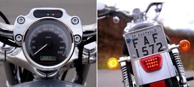 Estradeira e urbana Harley-Davidson Sportster 1200 Custom
