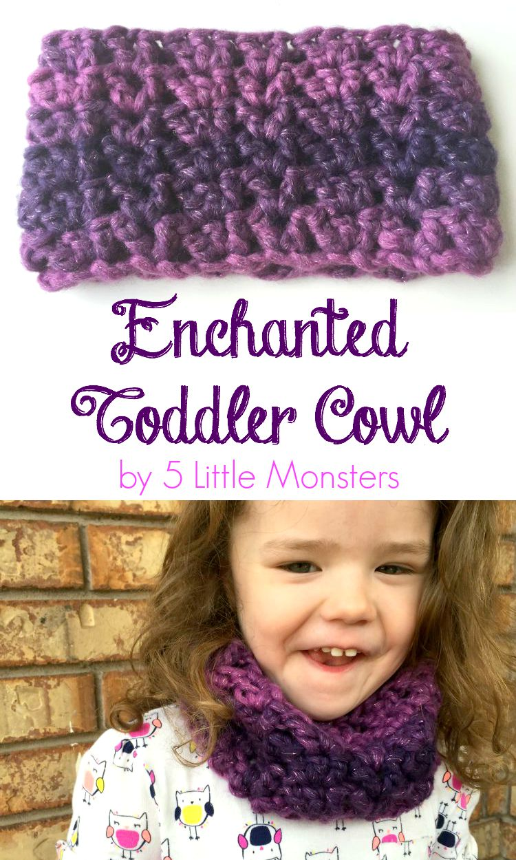 5 Little Monsters: Enchanted Toddler Cowl