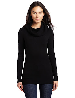 French Connection Women's Babysoft Solid Cowlneck Sweater