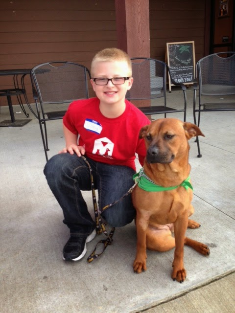 MCPS 5th Grader Volunteers at the Montgomery Humane Society 1