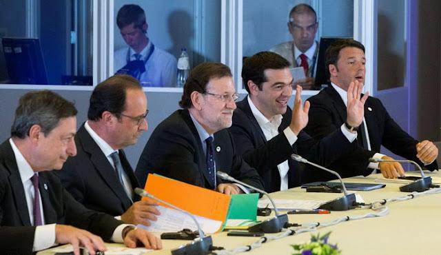 Ακραίος εκβιασμός κατά της Ελλάδας με τελεσίγραφο: Συμφωνία και Μνημόνιο ή Grexit