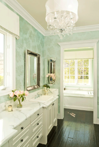 Mint Green Rooms green with envy - enchanted blogenchanted blog