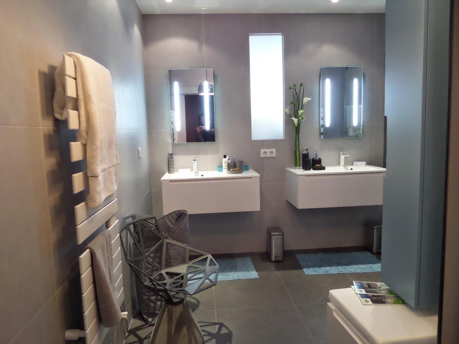 Meuble salle de bain gris galet - Leroy merlin lavabo salle de bain ...