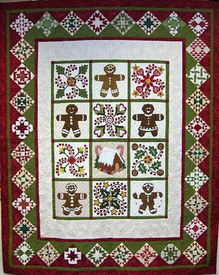 QUILT PATTERN GINGERBREAD My Quilt Pattern