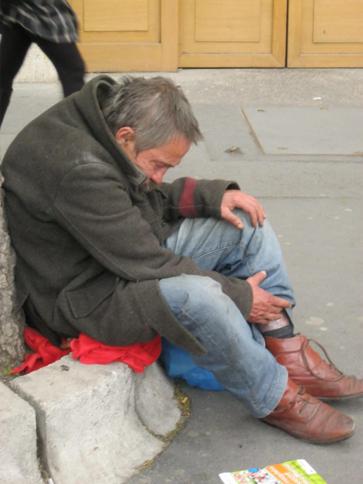 homeless, budapest