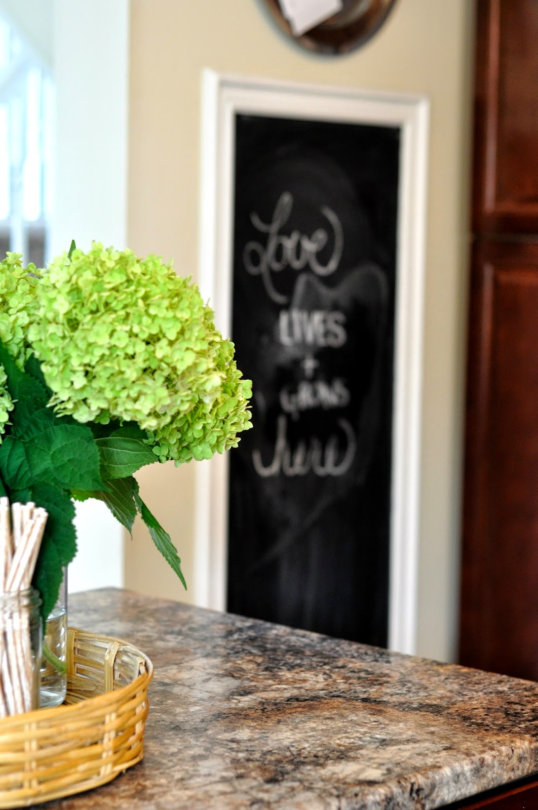 http://thislittleestate.blogspot.ca/2014/03/five-easy-chalkboard-projects.html