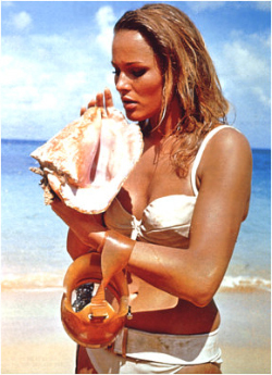Ursula Andress Honey Ryder bond girls 3326144 250 345 Ringo Starr and actress Barbara Bach first met onthe set of the film Caveman ...