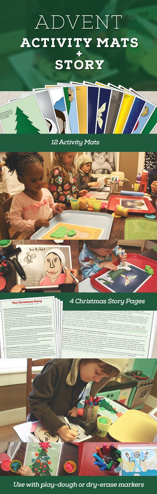 over the years weve tried various ways to engage our children during this season involving toddlers can be challenging through trial and much error - Christmas Story For Toddlers