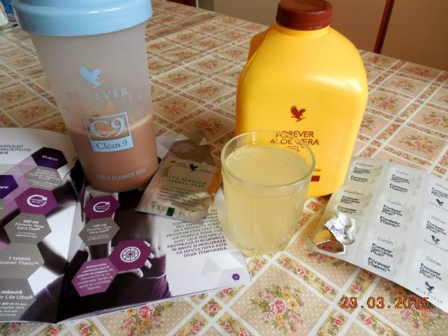 Prima zi de detoxifiere cu C9 FIT