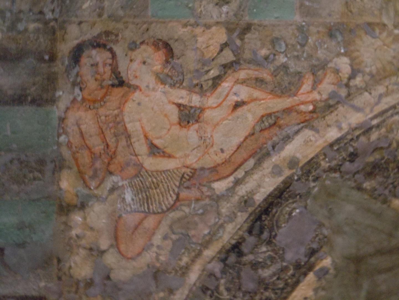 Erotic cave paintings