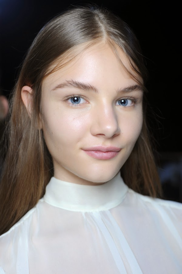 spring summer 2015 hair beauty trends natural makeup marc jacobs gucci