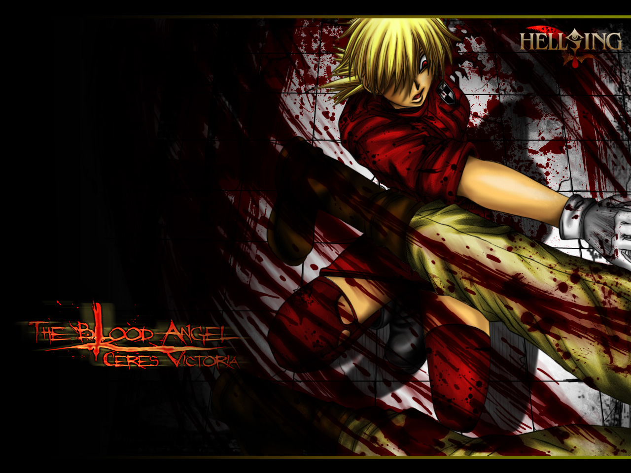 Hellsing Seras Victoria HD Wallpaper 1280x960