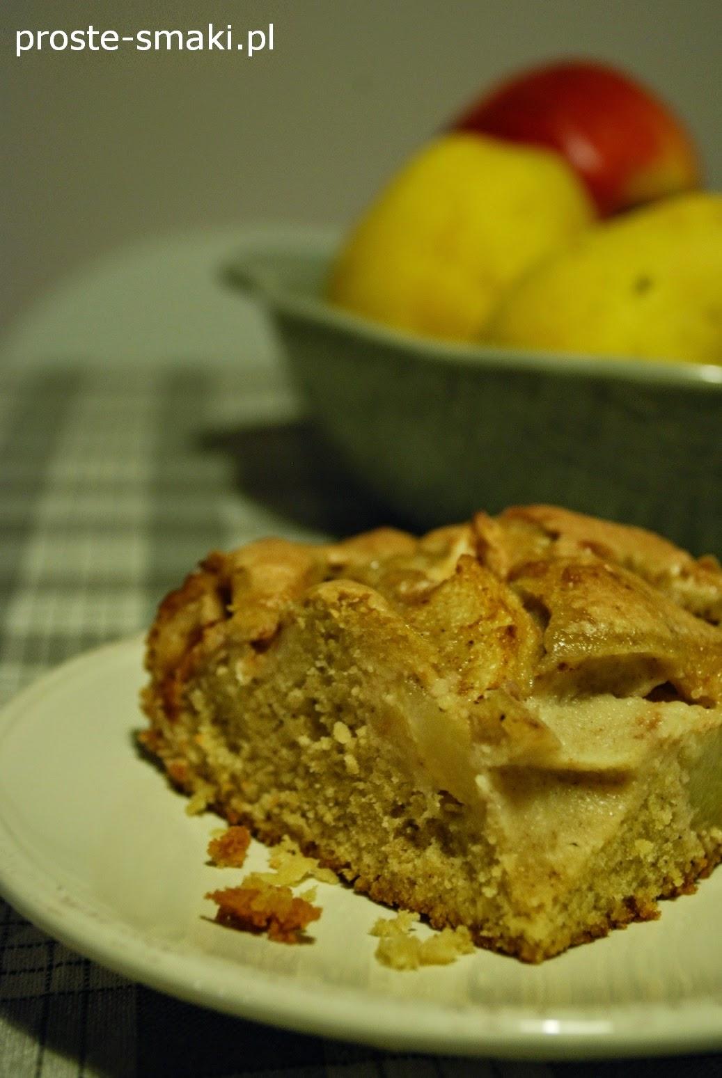 ciasto z jabłkiem i gruszką