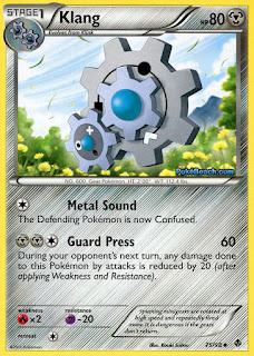 Klang Emerging Powers Pokemon Card
