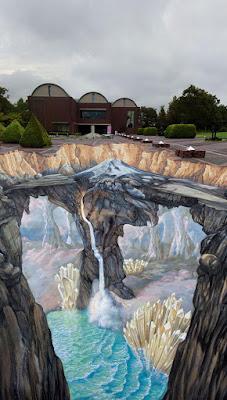 Green Pear Diaries, street art, arte urbano, Ilusiones ópticas, perspectiva, 3D
