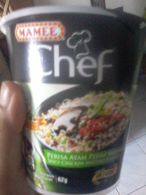 Mamee chef perisa ayam shitake
