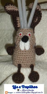 Reciclagem Croche Potes