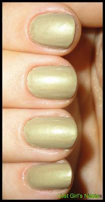 green franken nail polish