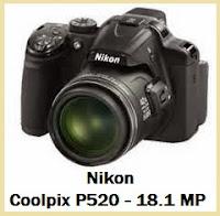 Spesifikasi Kamera Nikon Coolpix P520 - 18.1 MP