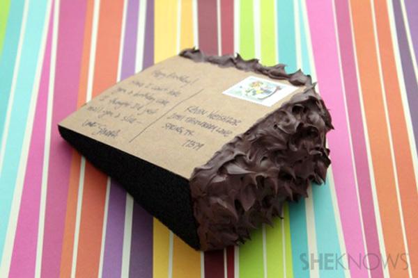 Be DifferentAct Normal Cake Postcard Birthday Invitation – Diy Birthday Party Invitations