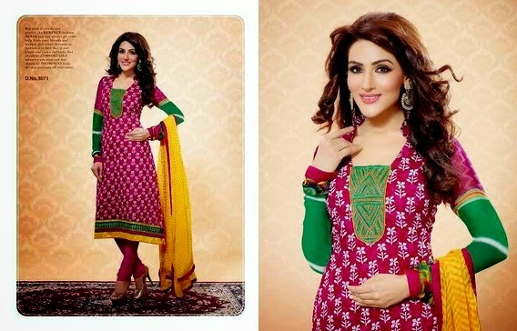 embroidered anarkali dresses 2014