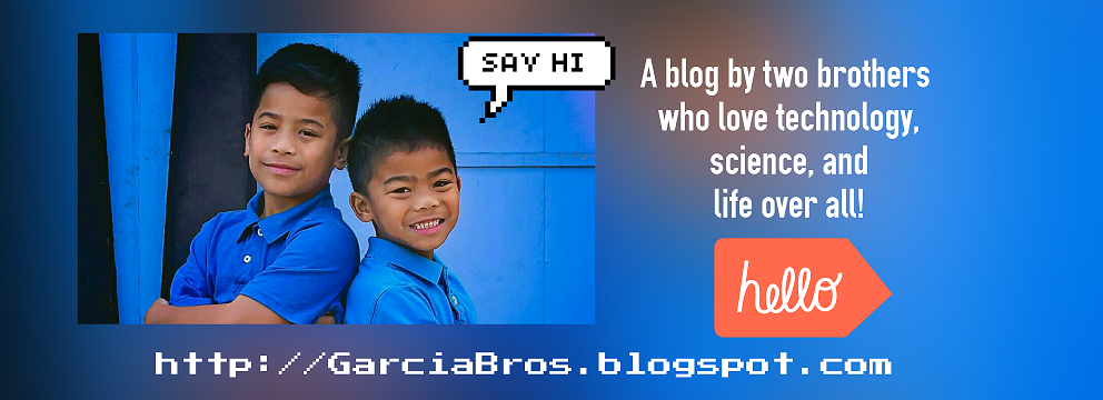 http://GarciaBros.blogspot.com