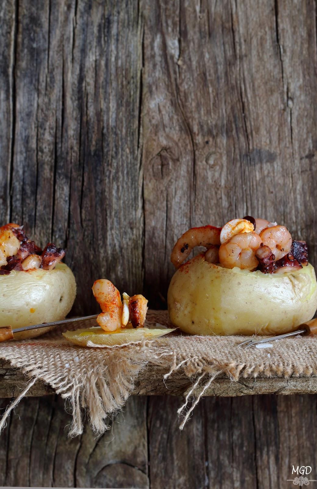 Patatas rellenas de marisco by Gaston Acurio