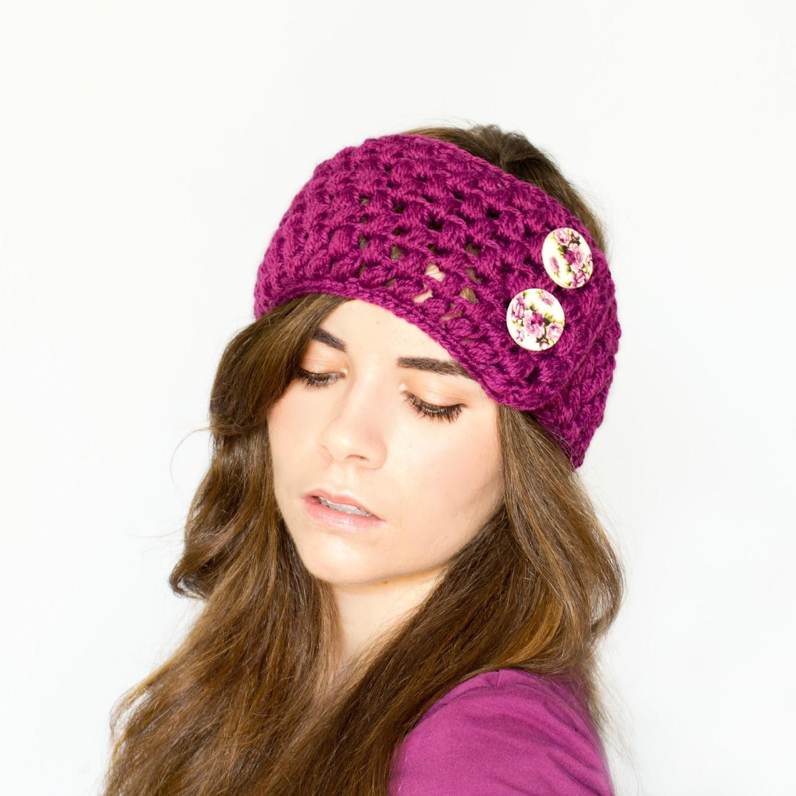 Free Crochet Ladies Ear Warmer Patterns ~ Dancox for .