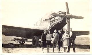 Junkers F-24 a l'aeròdrom d'El Prat