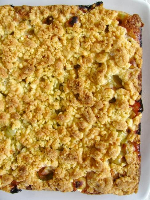 Anula's Kitchen: Gooseberry crumble cake...