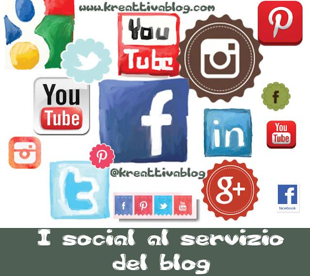 I social al servizio del blog