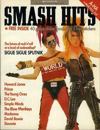 Smash Hits March 1986 ft. Sigue Sigue Sputnik