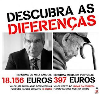 Injustiça; Reformas; Pensão de Mira  Amaral; Pensão de Político; Pobre; Reforma de Pobe; Trabalhador