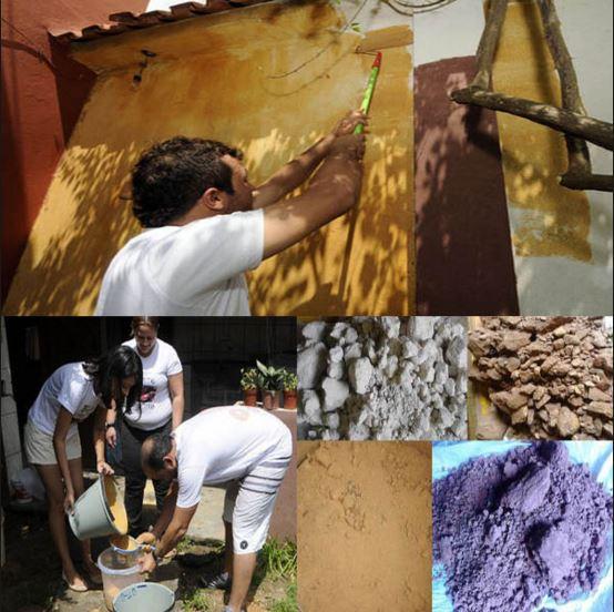Como fazer tinta de parede de argila (sustentável e muito econômica)