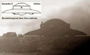 Proyek UFO Rahasia Jerman Dalam PD