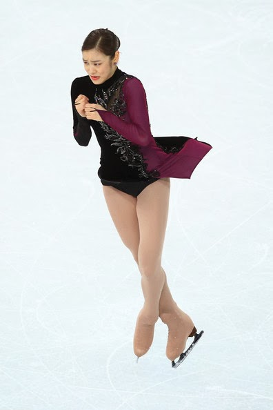 Tango style skating dress