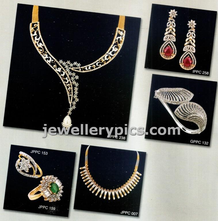 PC chandra Diamond jewellery catalogue for wedding - Latest ...