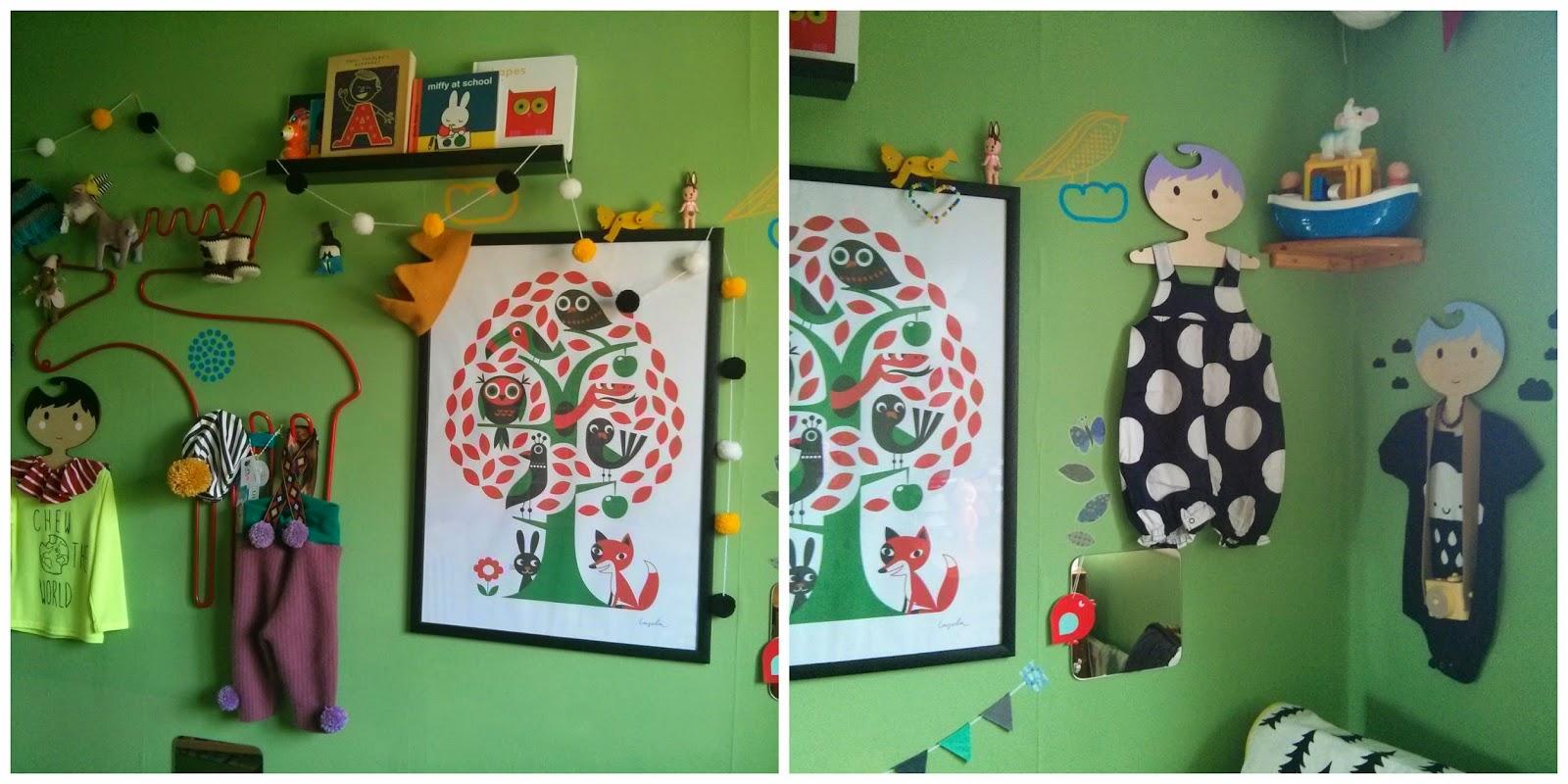Felix's room, baby's room, nursery