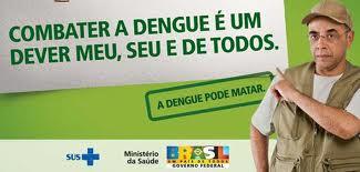 Vamos fortalecer a corrente no Combate contra a Dengue.
