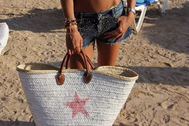 Strandtas Riet Maken : Un chicle en mi tac?n outfits playa ii
