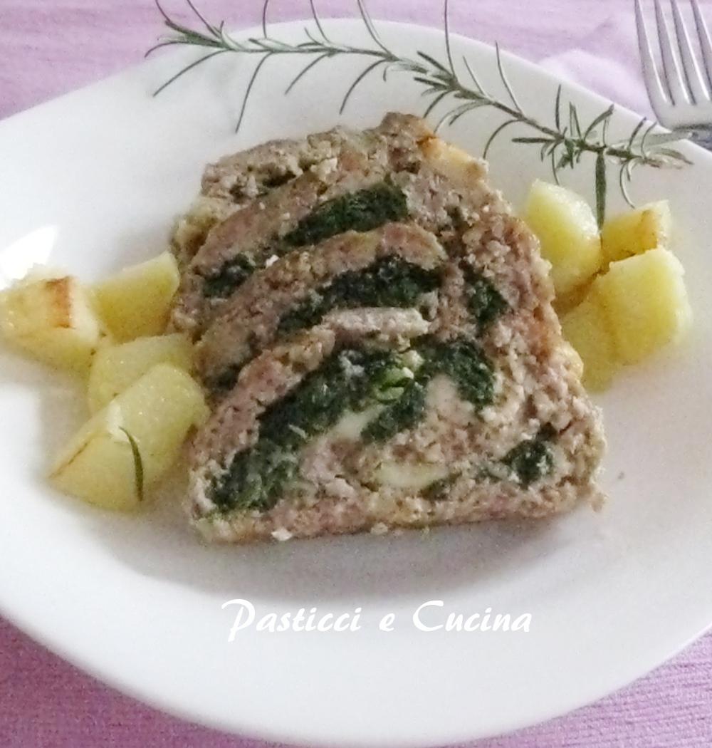 Pasticci e cucina polpettone ripieno di spinaci e mozzarella di bufala - Cucina e pasticci ...