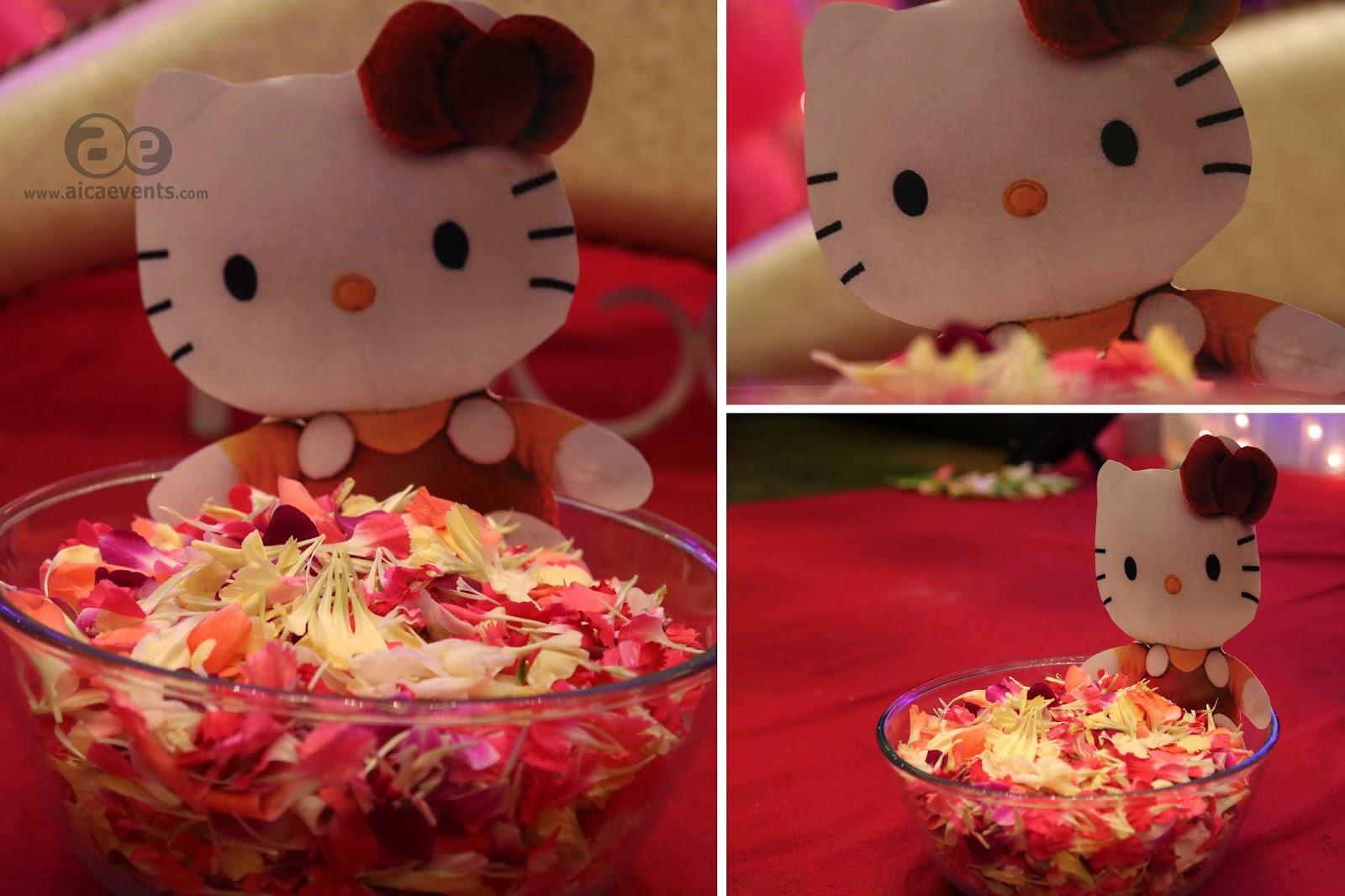 Gmail birthday theme - Kitty Theme Birthday Party For Baby Girls