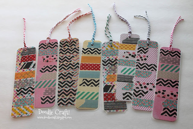 http://www.doodlecraftblog.com/2013/04/washi-tape-bookmarks.html