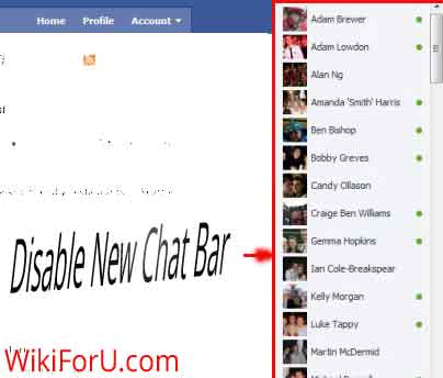 Disable Fb Chat in Firefox