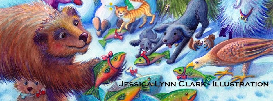 Jessica Lynn Clark - Illustration