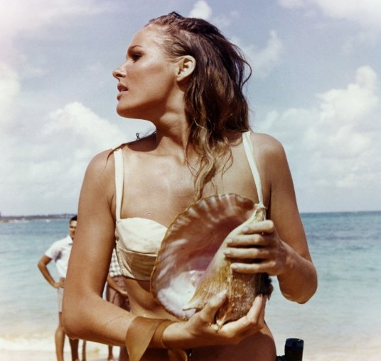 sexiest women in some of the sexiest movie scenes ever Ursula Andress Bond Girl