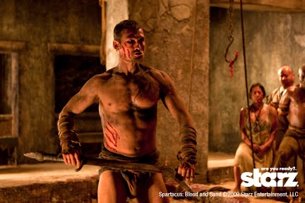 frontal Spartacus andy whitfield