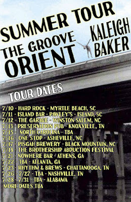 Kaleigh Baker and The Groove Orient Summer Tour Dates