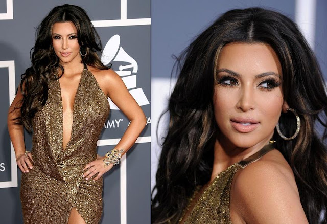 makeup <b>kim kardashian hair</b>