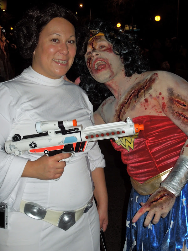 Princess Leia West Hollywood Halloween Carnaval